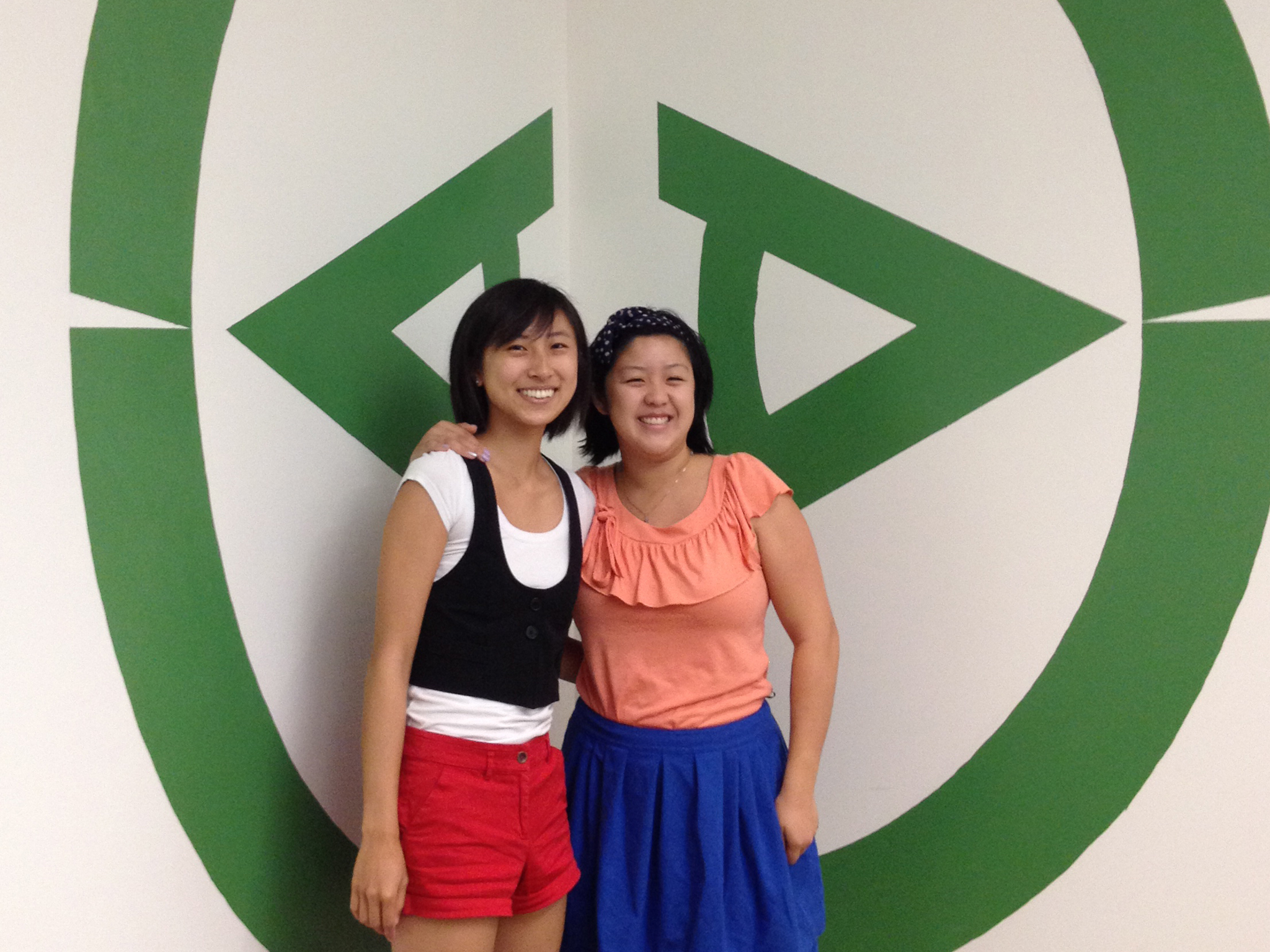 IDAAS Majors: Tracy Zhao (PO '12) and Katie Wang (SC '12)
